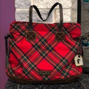 Dooney & Bourke Tartan Red Plaid handbag